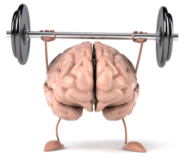 brain exercises found on Word clipart