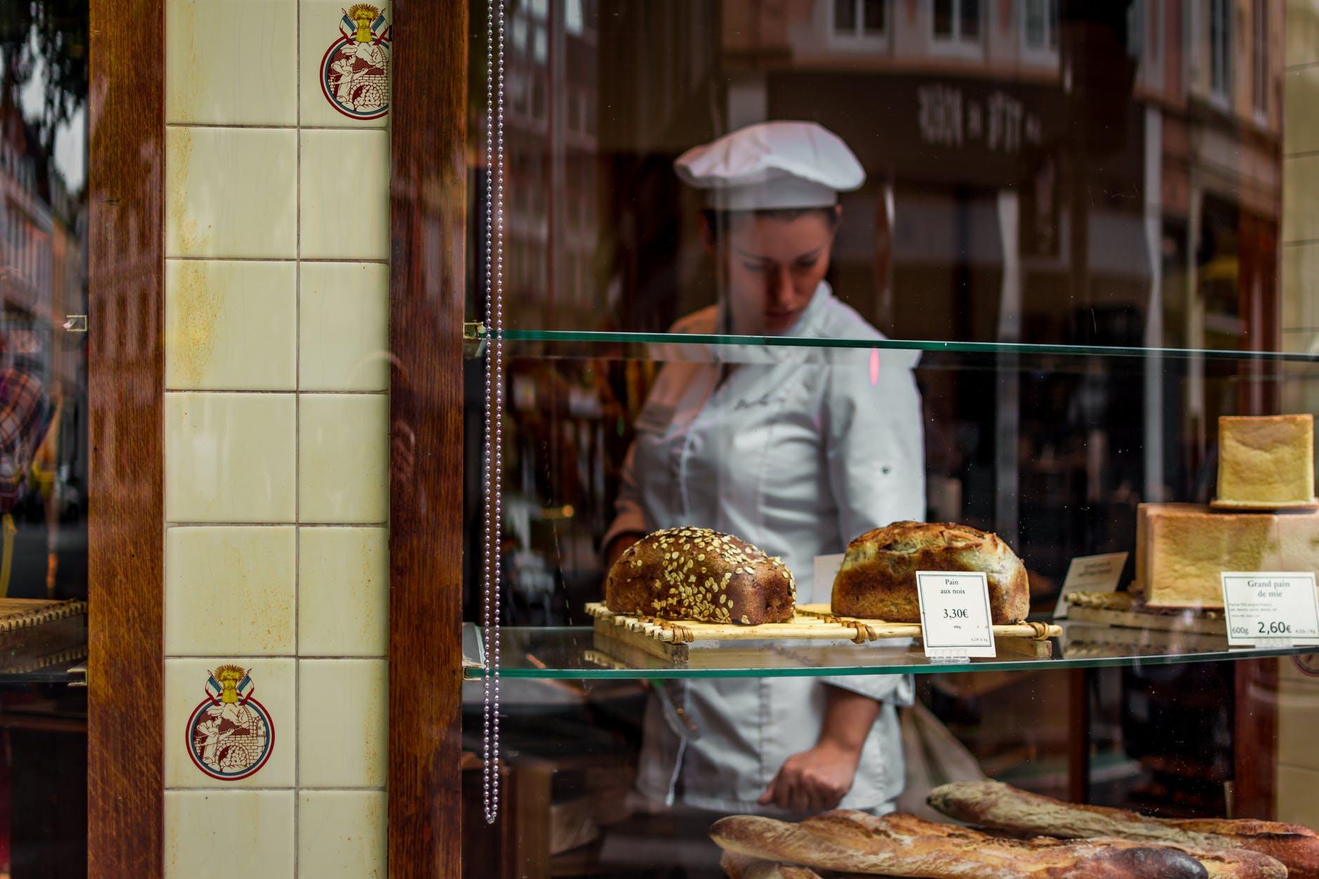 adult baker breads city